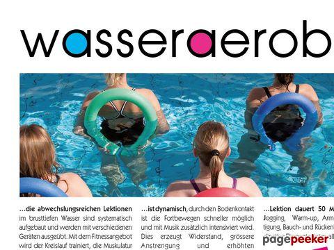 WasserAerobic, WasserFitness und AquaFit mit Irena Friedli