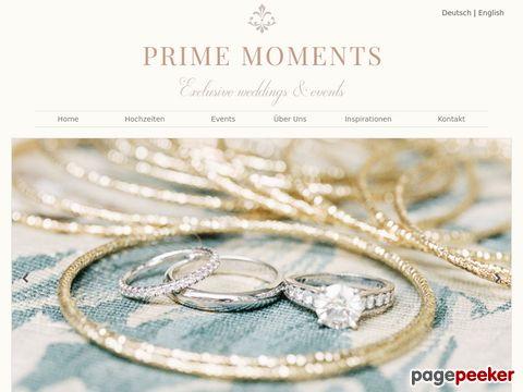 Prime Moments  - Ihr Weddingplaner mit Stil und Eleganz