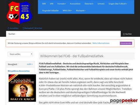 FC 45 - Deutschlands Nummer Eins für Fussball und Musik