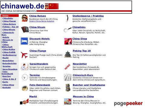 chinaweb.de - die China Informationsseiten
