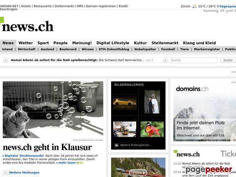 news.ch - Das Schweizer - News - Portal