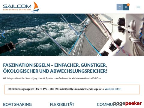 SailCom - Swiss Boat Sharing