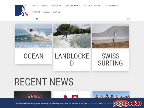 waveriding.ch - home of the swiss surfing association