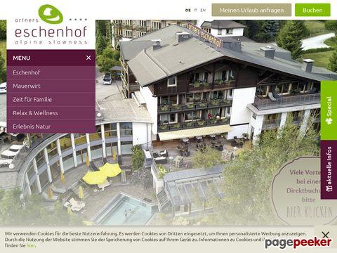 Hotel Eschenhof | Familienhotel Bad Kleinkirchheim | Wellnesshotel Kärnten