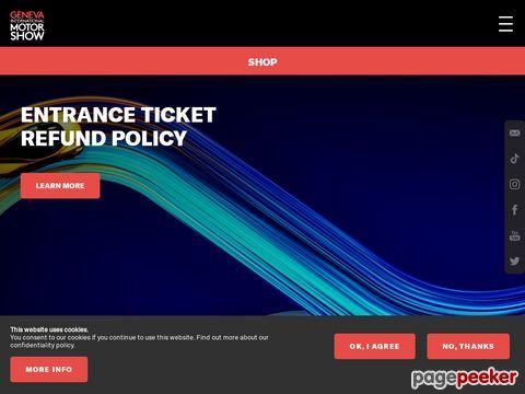 Autosalon Genf - official website