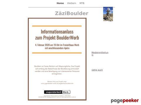 Infos - ZäziBoulder (Zäziwil / BE)