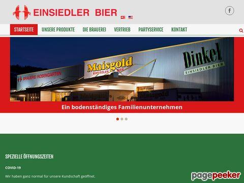 Brauerei Rosengarten AG - Einsiedeln