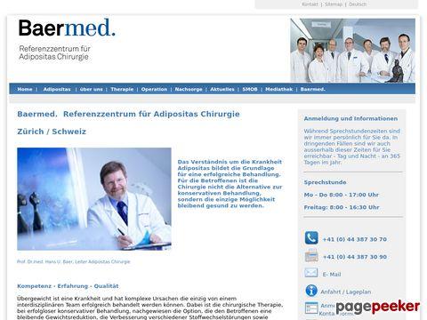 Baermed Referenzzentrum für Adipositas Chirurgie