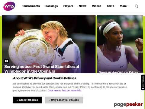 WTATour.com - Official Site of the Sony Ericsson WTA Tour