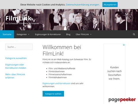 FilmLink.ch - Die Schweizer Filmszene im Internet