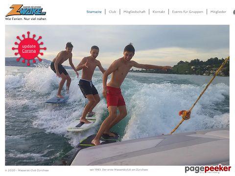 Z-Wake - Wasserskiclub Zürichsee: Wasserski und Wakeboard auf dem Zürichsee