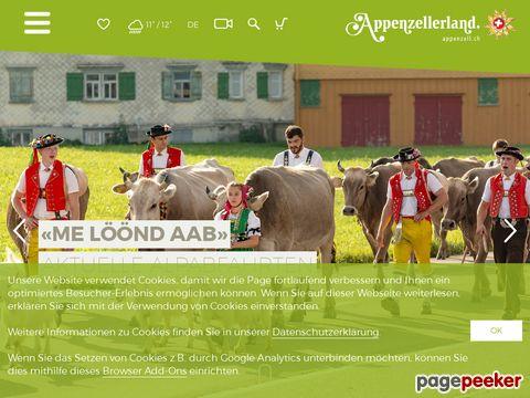 Appenzellerland Tourismus - Ferien in der Schweiz