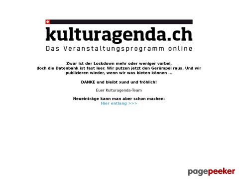 kulturagenda.ch - Eventdaten Schweiz