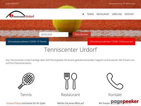 Tenniscenter Urdorf ZH - sportlich freundlich...