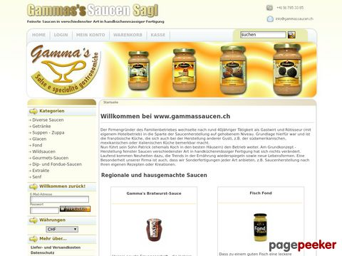 Gamma Saucen