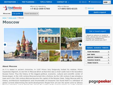 hotels-moscow.ru - Moscow hotels - Reservation