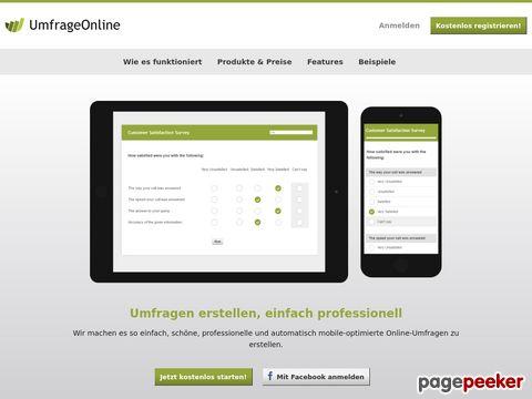 umfrageonline.com - Online Umfragen