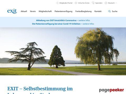 EXIT - Deutsche Schweiz