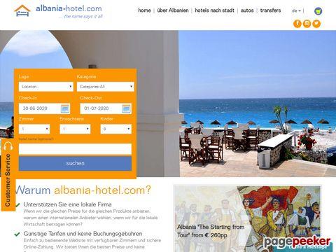 Albanien Hotel, Hotel in Albanien, Reise nach Albanien