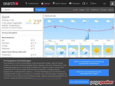 Das Wetter in der Schweiz [meteo.search.ch]