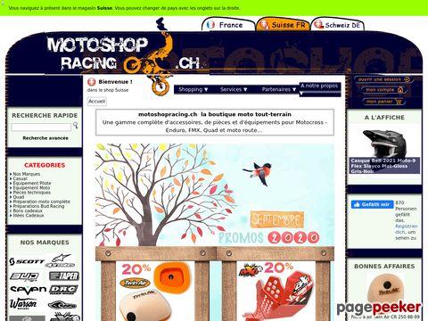 motoshopracing.ch - Moto Shop Racing