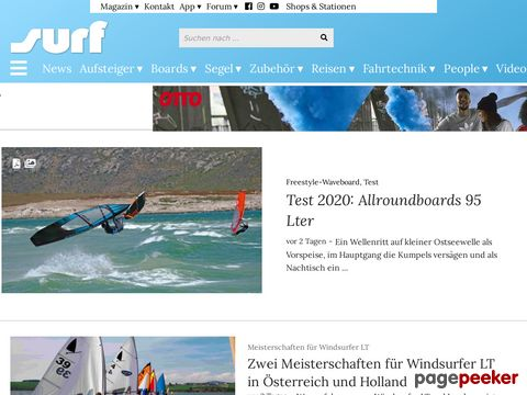 SURF-Magazin - world of windsurfing