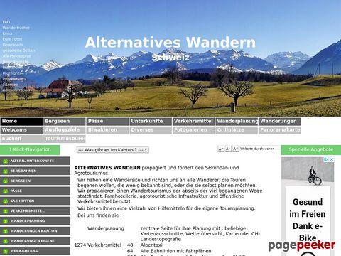 alternatives-wandern.ch - Alternatives Wandern