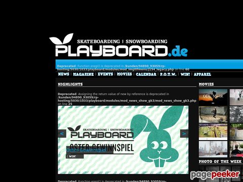 playboard.de - Playboard Magazin