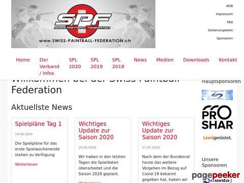 SIS - Swiss Indoor Series (offizielle Schweizer Paintball Turnierliga)