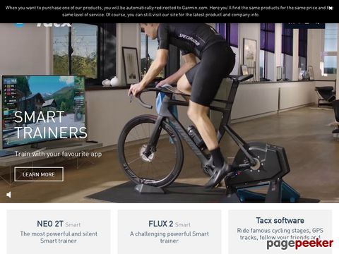 tacx.com - Virtual Reality-Trainer, Ergotrainer, Hometrainer, ...
