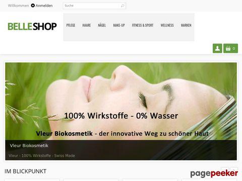 Belleshop.ch - Schweizer Onlineshop für hochwertige und exklusive Produkte