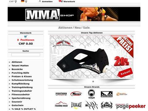 ufc-shop.ch - UFC-Shop
