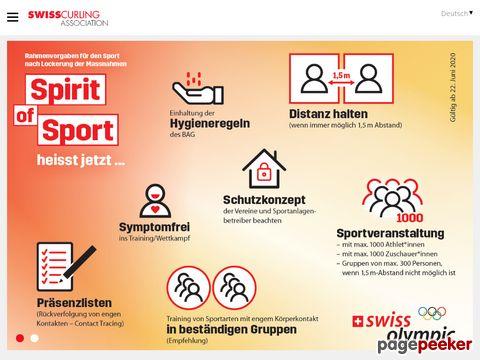 curling.ch - SCA - Schweizerischer Curling Verband - Swiss Curling