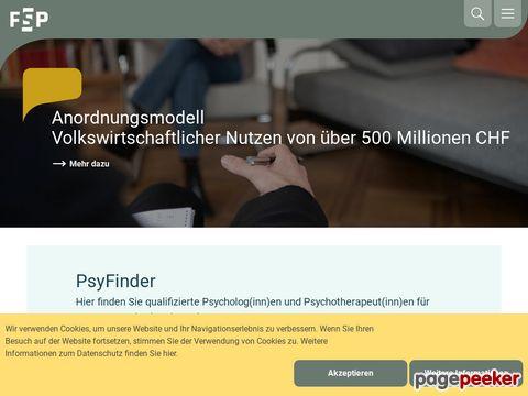 psychologie.ch - Schweizer Psychologinnen und Psychologen (FSP)