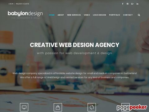 Babylon Webdesign - complete solution for your web site