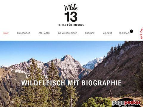 Wilde 13 - Feines für Freunde