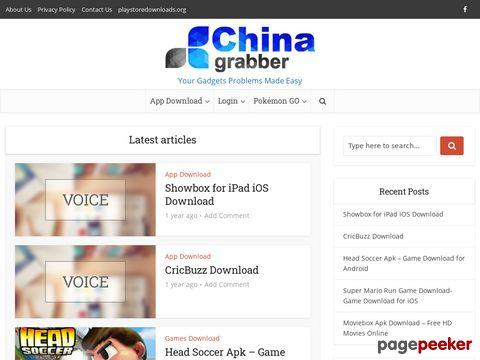 chinagrabber.com - Gadgets aus China - Sachen dies bei uns nicht zu kaufen gibt