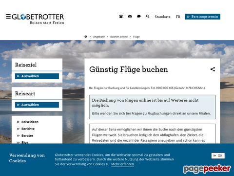 GLOBETROTTER Travel Service  - Flüge online buchen
