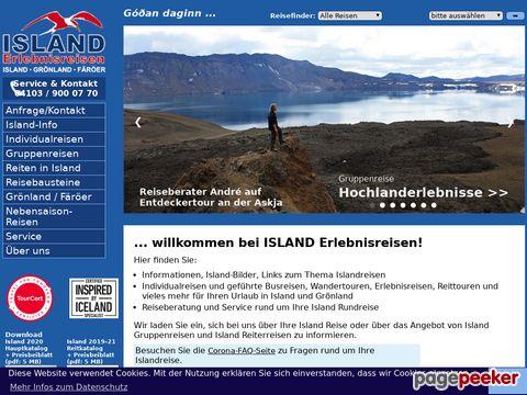 islanderlebnis.de - Islandreisen-Spezialist