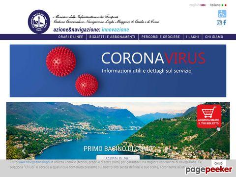 Lago Maggiore - Navigazione Laghi Maggiore Garda Como