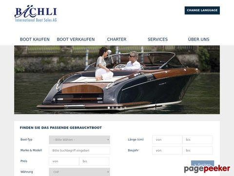 Bächli Boat Trade - International Boat Sales