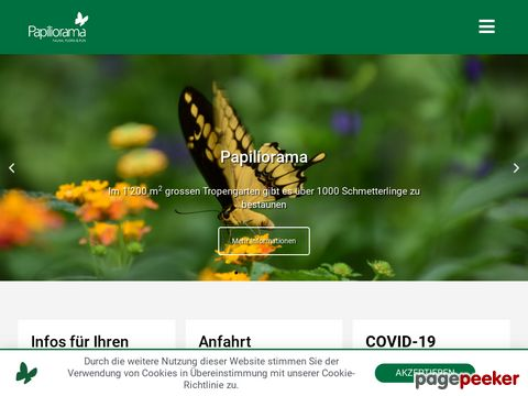 papiliorama.ch - Papiliorama - Swiss Tropical Gardens (Kanton Neuenburg)