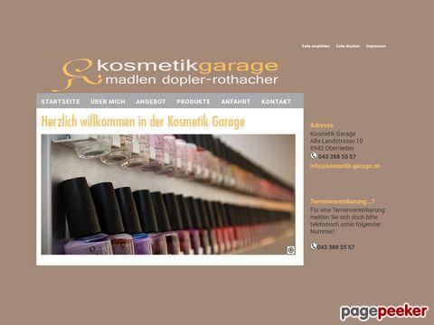 Kosmetik Garage - Akne Behandlung (CH-8942 Oberrieden)