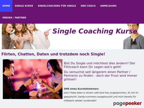 Single Coaching Kurse