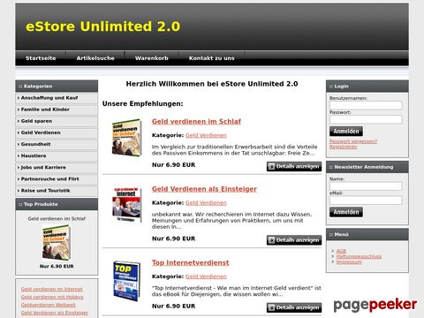 Top Ebooks zum downloaden im Aktuellen Ebookshop