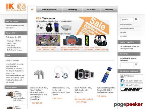 MP3.ch Schweizer MP3-Portal