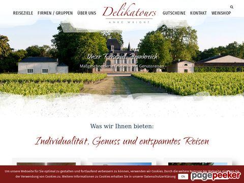 delikatours.de - Weintouren - Exklusive Gourmetreisen nach Frankreich