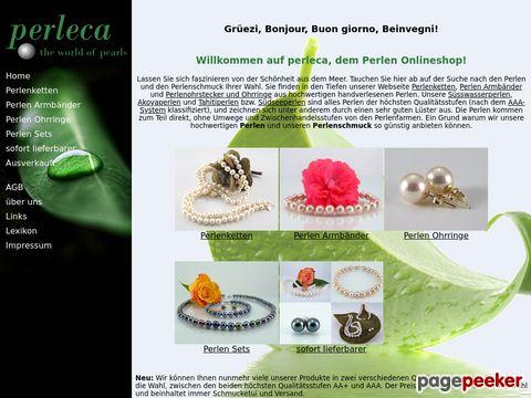 perleca.ch - Perlen und Perlenschmuck