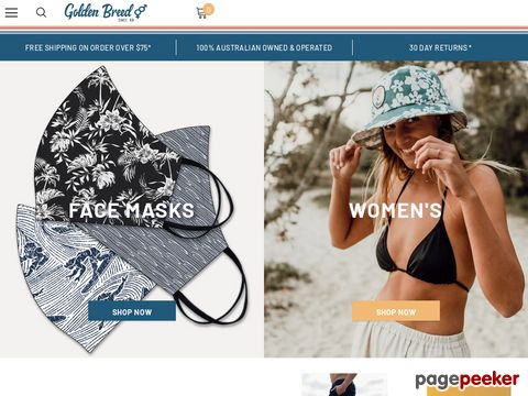 Golden Breed - Surf Wear, Clothing, Online Surf Shop Australia