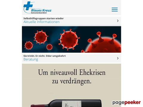 Blauen Kreuz Zürich - Informationen zum Umgang mit Alkohol